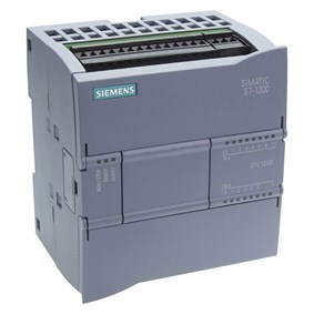 SIEMENS CPU  S7 1200 1211C DC / DC / Role 50 KB (Prog + Data) 6DI / 4DO, 2AI 6ES7211-1HE40-0XB0